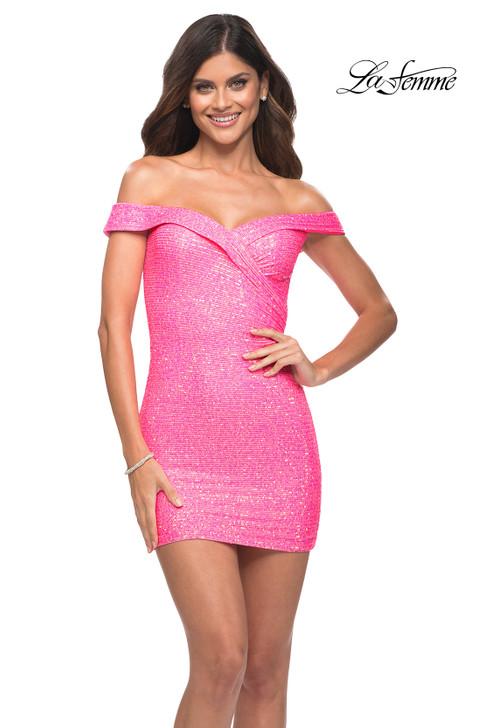 La Femme 30244 cocktail homecoming dress