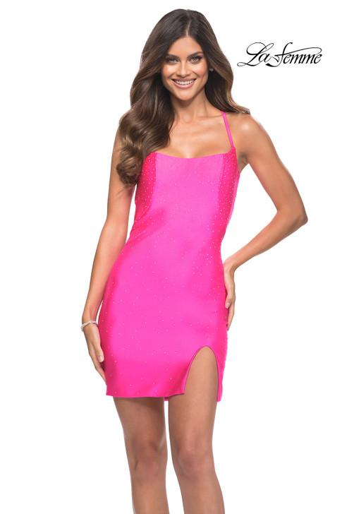 La Femme 30304 homecoming cocktail dress