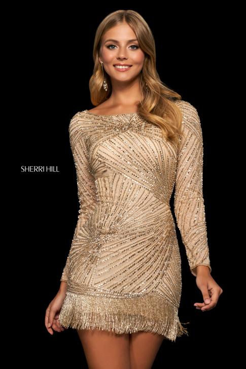 Sherri Hill 53941 short beaded dress