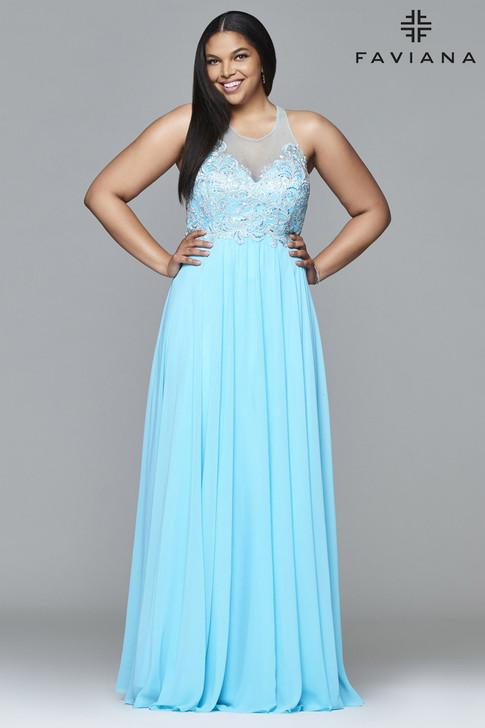 Faviana 9405 Plus Size Dress