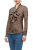 BOTTON DOWN BOW TIE FRONT TOP BAN1906-0067