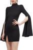 HIGH NECK SHEATH DRESS BAN2007-0461
