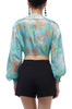 TIE FRONT CROPPED TOP BAN1912-0888