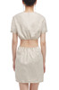 ROUND NECK WITH HOLLOWED WAIST DRESS BAN2011-0550