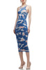 OVAL NECK MID-CALF TANK PENCIL DRESS BAN2012-0038