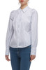 BUTTON DOWN WITH GIGOT SLEEVE SHIRT TOP BAN2010-0152