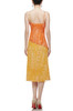 CAMISOLE WITH SLIT ASIDE A-LINE DRESS BAN2012-0276