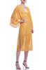 V-NECK WITH SLIT ON BOTH SIDE COVER UP DRESS BAN2106-0096