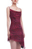 CAMISOLE WITH ASYMETRICAL HEM DRESS BAN2104-1138