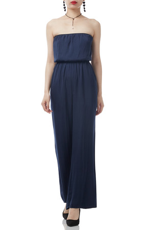 STRAPLESS CULOOT JUMPSUIT BAN1701-0004
