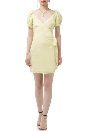 BACKLESS WRAPOVER DRESS BAN1906-0083