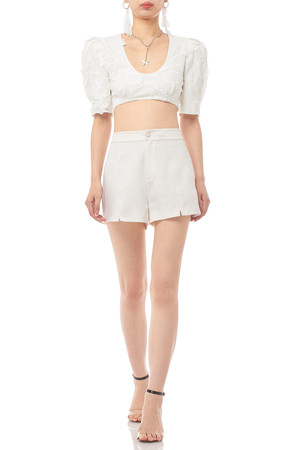 U-NECK CROPPED TOP BAN1910-0953