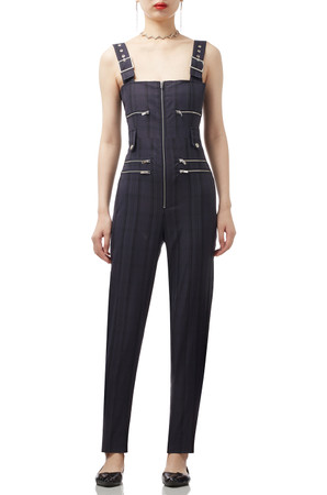 ZIP- UP FRONT JUMPSUITS BAN1905-0383