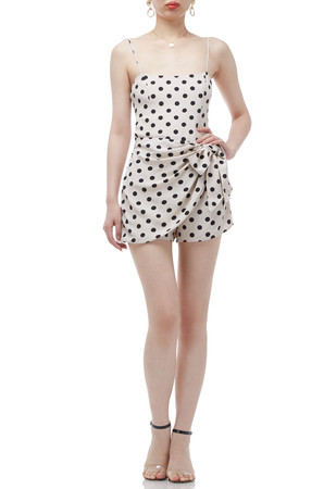 CAMISOLE NTURAL WRASTED ROMPERSA BAN1912-0081