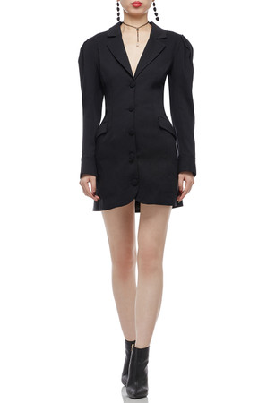BUTTON DOWN SUIT DRESS BAN1807-0854
