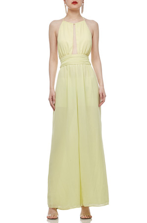 TIE ON THE NECK BACKLESS DRESS BAN1911-0805