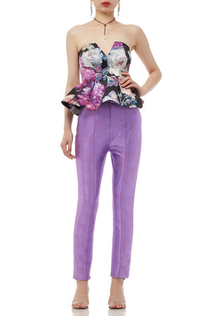 NORMAL WAISTED CROPPED PANTS BAN1908-0023