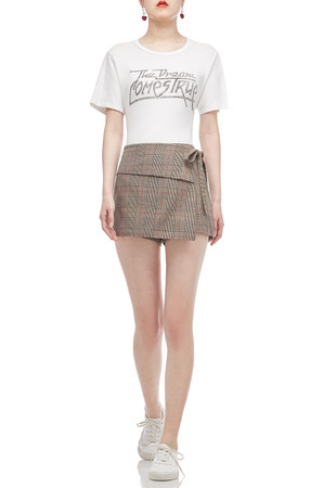 NORMAL WAISTED SKORT BAN1806-1021
