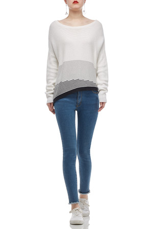 BOAT NECK SWEATER TOP BAN1911-0012