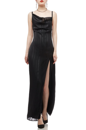 CAMISOLE WITH SLIT ASIDE DRESS BAN2010-0452