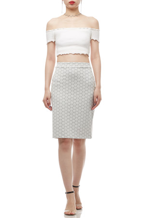 NORMAL WAISTED ABOVE THE KNEE SKIRT BAN1710-0367
