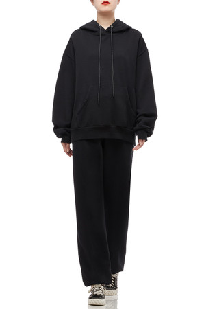 DRAWSTRING WITH FRONT POCKET HOODIE TOP BAN2009-0286