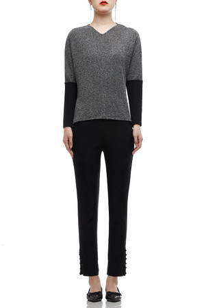 V-NECK WITH DOLMAN SLEEVE TOP BAN2008-0155
