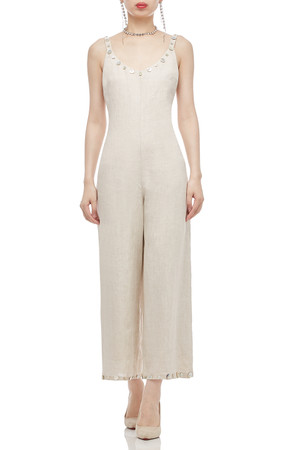 STRAP WITH WIDE LEG JUMPSUIT BAN2011-0287