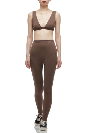 NORMAL WAISTED ANKLE LENGTH LEGGING BAN2012-0627