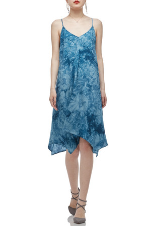 CAMISOLE WITH ASYMETRICAL HEM DRESS BAN2012-0113