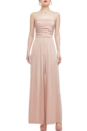 STRAPLESS ANKLE LENGTH JUMPSUIT BAN2101-0341