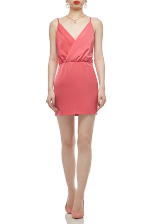 CAMISOLE WITH SURPLICE NECK DRESS BAN2012-0275