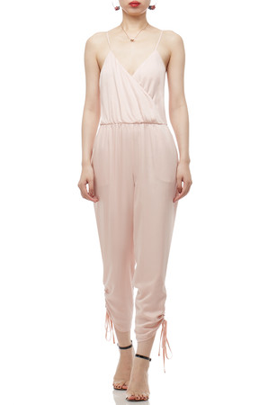 CAMISOLE WITH DRAWSTRING ON THE LEG JUMPSUITS BAN2102-0187
