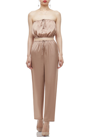 HIGH WAISTED WITH DRAWSTRING ANKLE LENGTH PANTS BAN2011-0359