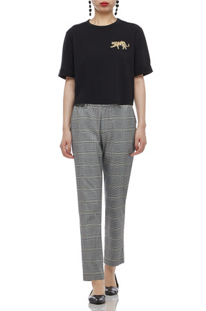 NORMAL WAISTED CROPPED PANTS BAN2103-0202