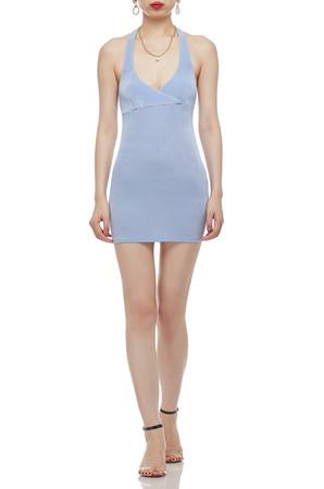 HALTER NECK PENCIL DRESS BAN2103-0725