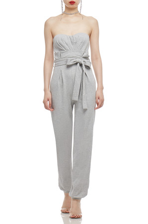 STRAPLESS BELTED JUMPSUITS BAN2103-0589