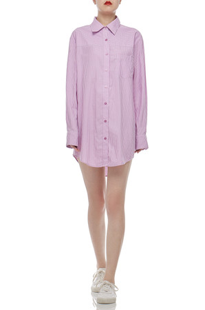 BUTTON DOWN SHIRT DRESS BAN2011-0026