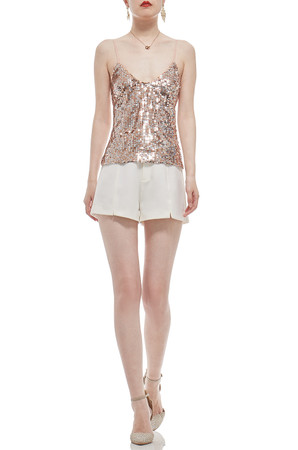 CAMISOLE SEQUINED TOP BAN1910-0806