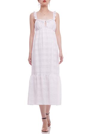 A-LINE ANKLE LENGTH STRAP DRESS BAN2104-0575