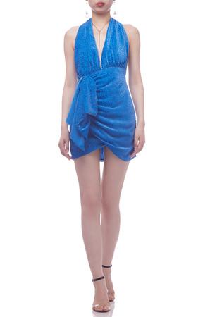 HALTER NECK BACKLESS PENCIL DRESS BAN2104-0158