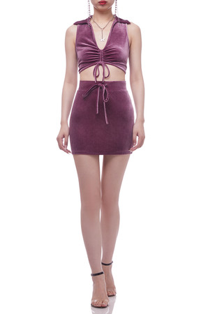 NORMAL WAISTED WITH DRAWSTRING SKIRT BAN2104-0770
