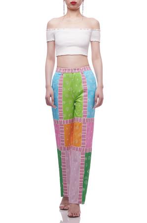 NORMAL WAISTED FULL LENGTH PANTS BAN2103-0025