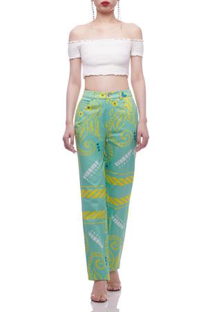 NORMAL WAISTED FULL LENGTH PANTS BAN2104-0656