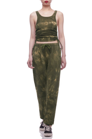 NORMAL WAISTED WITH DRAWSTRING ON THE WAIST SWEATPANTS BAN2103-1054