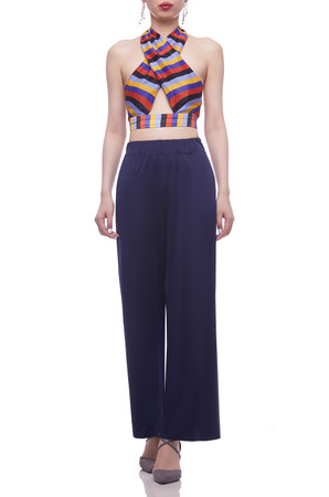 NORMAL WAISTED ANKLE LENGTH PANTS BAN2102-0352