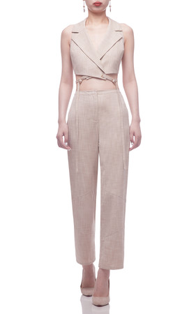 NORMAL WAISTED CROPPED PANTS BAN2106-0109