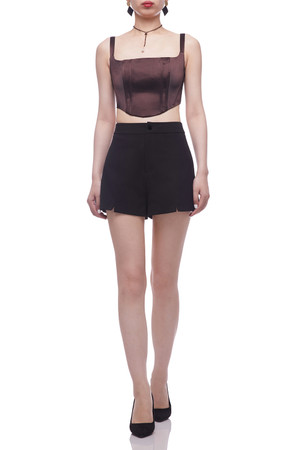 STRAP WITH SMOCK BACK TOP BAN2106-0125