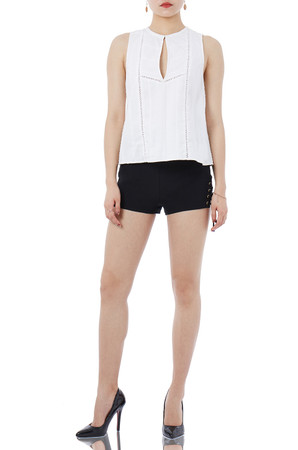 DAYTIME OUT VESTS TOPS PS1805-0068-W