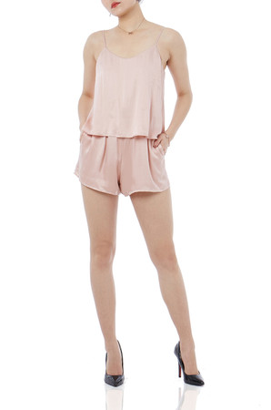OFF DUTY/WEEK END CAMI ROMPERS P1710-0158